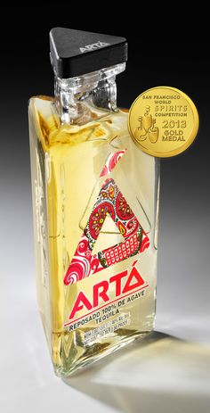 Arta Tequila Resosado. Awarded Gold Medal in the 2013 San Francisco World Spirits Competition!