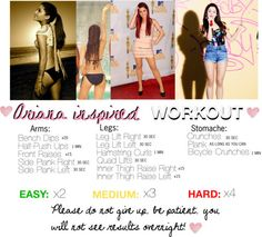 Ariana Grande Summer Workout Plan for a hot body!