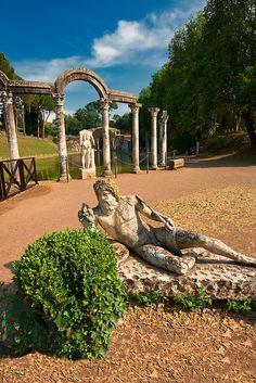 Hadrian's Villa, UNESCO World Heritage Site, Tivoli, Lazio, Italy