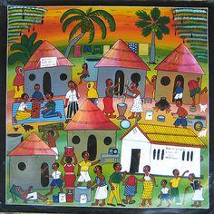 Tingatinga-original African art from Tanzania-Tinga Tinga-main