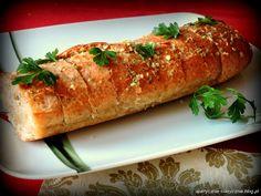 Bagietka czosnkowa z pieca   apetycznie-klasycznie