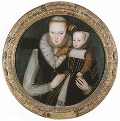 Jane's sister Catherine Grey with her son Edward.