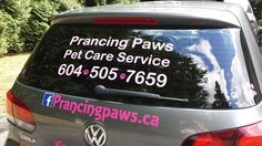 Imagine It Vinyl Graphic & Signs in Langley BC Canada - Home Custom Car Decals, Vinyl Decals, Custom Vinyl, Branding Your Business, Pet Care, Mini, Pets, Canada