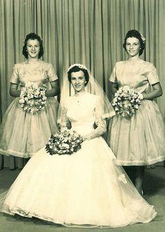 Hilda's wedding 1960