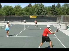 Clever Tennis Lessons: The Netman's Position - YouTube