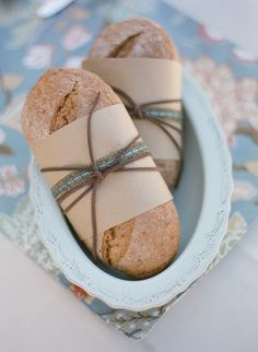 Bread - love the wrapping