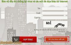 Nhập thông tin form nhận key