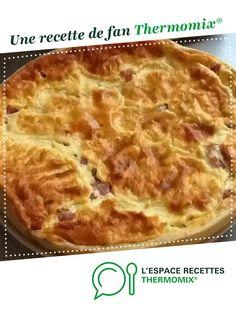 Quiche lorraine par Nat38. Une recette de fan à retrouver dans la catégorie Tartes et tourtes salées, pizzas sur www.espace-recettes.fr, de Thermomix<sup>®</sup>.