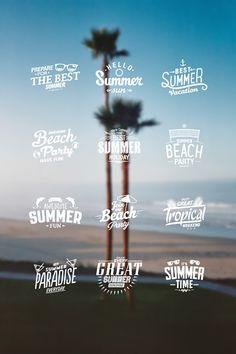 Summer! by Gabriel Barbu via Design Quixotic