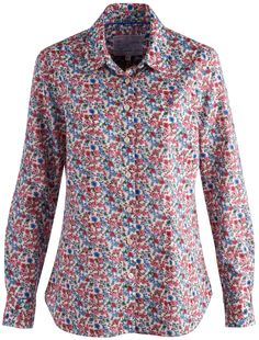 Joules Ladies Maywell Shirt http://www.barnack.co.uk/joules-maywell-womens-shirt-creme-ditsy/
