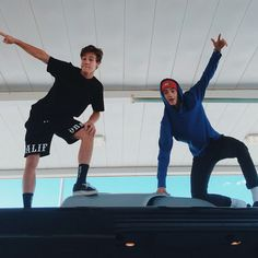 imagine:  cameron and jack send you this picture saying: come down here! have fun with us because we miss you!