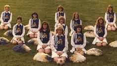 Cheerleading in the 80s .. AWESOME hair! Watch the documentary 'The Truth Behind The Pompoms' - trailer on www.cheercoach.net