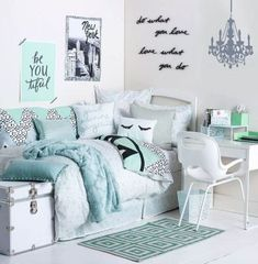 Bedroom Cool Tween Girl Bedroom Ideas Cool Things For Teenage Girl . Bedroom Cool Tween Girl Bedroom Ideas Cool Things For Teenage Girl teen girl bedroom decor - Bedroom Decoration Teenage Room Designs, Room Inspiration, Girls Room Decor, Bedroom Decor, Cute Room Ideas, White Dorm Room, Tween Girl Bedroom, Cute Dorm Rooms, Room