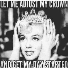 "Top Funny birthday pictures always give us a laugh. So we collected the most adorable Happy funny birthday quotes ""Sending you smiles for every moment Pin Ups Vintage, Vintage Glam, Monroe Quotes, Humor Mexicano, Visual Statements, Queen Quotes, Princess Quotes, Funny Princess, Good Morning Quotes"