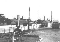 Mitcham Station 1945
