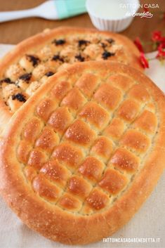 Easy Focaccia Recipe, My Recipes, Cooking Recipes, Bread And Pastries, Biscotti, Waffles, Bakery, Food And Drink, Breakfast