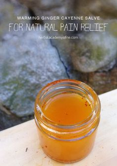 Warming Ginger Cayenne Salve for Natural Pain Relief - DIY Herb love! / Plant Medicine <3