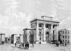 Opened in 1838 and originally named Birmingham Station, the Curzon Street Station was used as a passenger station until 1893 when it became a goods only station. Closed in London Birmingham, Birmingham City Centre, Birmingham England, 2nd City, Science Museum, Old Town, Facade, Taj Mahal