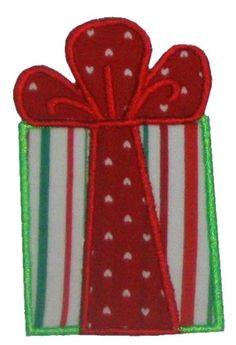 Christmas present applique   SHANNON STITCHES: Christmas Designs