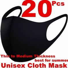 Black Unisex Face Mask Reusable Washable Cover Masks Fashion Cloth Men Women USA #Daisland #FaceMasks #Everyday Jean Top, Sale Promotion, Girls Pants, Skirt Pants, Masks, Coupon, Unisex, Fashion Outfits, Usa