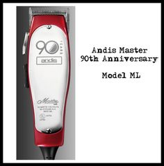 Andis Master Anniversary model ML Andis Clippers, Anniversary, Home Appliances, Model, House Appliances, Scale Model, Appliances, Models