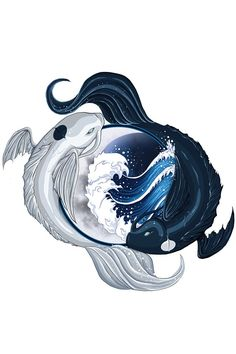 The spirits of the moon and the ocean