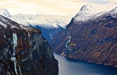 Geiranger Fjord , Norway with DJIPhantom and GoPro