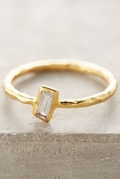 Robindira Off-Kilter Ring #anthrofave