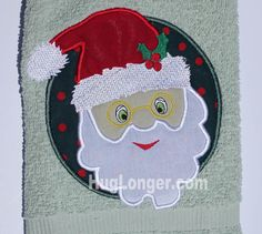 Looking for your next project? You're going to love Applique Santa embroidery file HL1035 by designer Hug Longer.