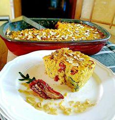 Quinoa Sun dried tomato cheese and broccoli Casserole