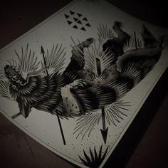 Wolf // Guy Le Tatooer