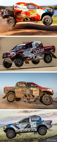 Jumps of Toyota Hilux | EVO Corse Racing Wheels #evocorse #evocorsewheels #dakarcorsewheels #toyotahilux #jump #powerjump #followus