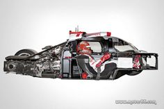 Audi Le Mans . . . cool to see just how it's designed & works!