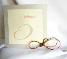 Decorazioni di nozze spiaggia, nodo tabella numeri titolari, 8pcs