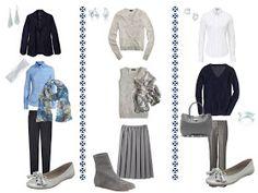 office wardrobe ideas. A Common Office Capsule Wardrobe, With Grey | Wardrobes, Filing And Wardrobe Ideas