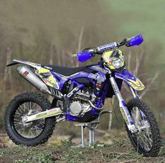 SHERCO 300 4T DESIGNED BY ART FACTORY 4-stroke (Photo Fred David)