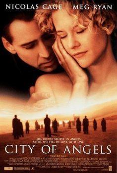 City Of Angels Meg Ryan, Nicolas Cage, City Of Angels Movie, Angel Movie, Hd Movies, Movies To Watch, Movies Online, Romance Movies, Indie Movies