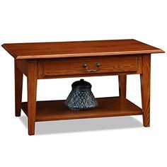 Coffee Table in Oak Finish -- Visit the image link more details. Note:It is affiliate link to Amazon.