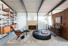 This 1959 Mid Century by Richard Dorman has been meticulously renovated and looks almost original. It is part of the prestigious Sherman Oaks Estates