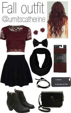 na8rh6-l-610x610-cute+outfit-skirt-leggings-hair+accessory-scarf-jewels-school-burgundy-shoes.jpg