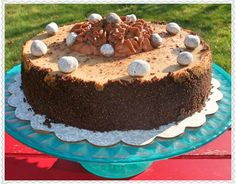 Rosie's Country Baking: Espresso Chocolate Cheesecake