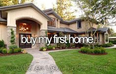 or have the home of my dreams built on a large piece of land!