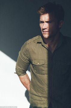 Scott Eastwood Poses for Nylon, Talks Love Scenes + San Diego Scott Eastwood, Brad Goreski, Hollywood Scenes, Hollywood Actresses, The Longest Ride, Britt Robertson, Hot Cowboys, Love Scenes, Military Fashion