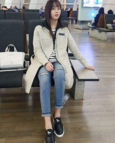 Cute Fashion, Asian Fashion, Girl Fashion, Fashion Outfits, Kim So Hyun Fashion, Hyun Ji, Instyle Magazine, Cosmopolitan Magazine, Kim Sohyun