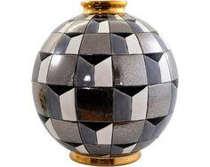 Emaux de Longwy Art Deco, Art Nouveau, Ceramic Design, Ceramic Art, Geometric Designs, Geometric Shapes, Colonial, Ceramic Texture, Jar Design