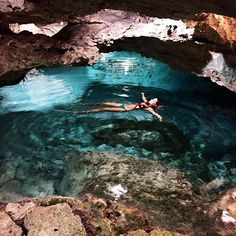 #VeronicaFerraro Veronica Ferraro: Kantunchi cenote #Mexico #RivieraMaya