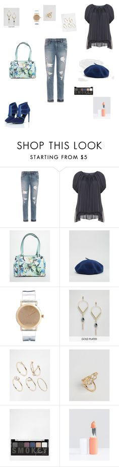 """""""Untitled #916"""" by denaye-mo ❤ liked on Polyvore featuring Joe's Jeans, Fiorelli, Pieces, ASOS, Pilgrim, Lipsy, NYX and Models Own"""