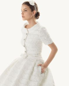Barbara-Palvin at rosa-clara bridal