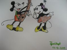 Mickey & Minnie :))  - by jose angel barbado