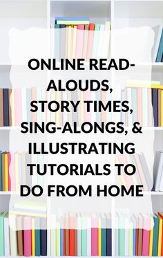There are many authors, illustrators, publishers, and educators sharing free literacy resources online for those of us at home. Literacy Skills, Literacy Activities, Kindergarten Readiness, Online Stories, Best Children Books, Children Reading, Read Aloud Books, School Closures, Author Studies